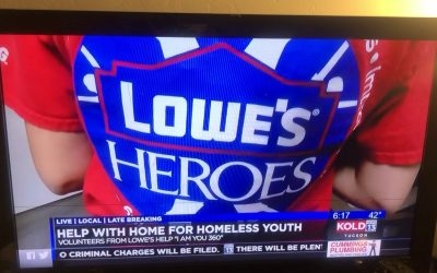 Lowe's Home Improvement Hero's Project