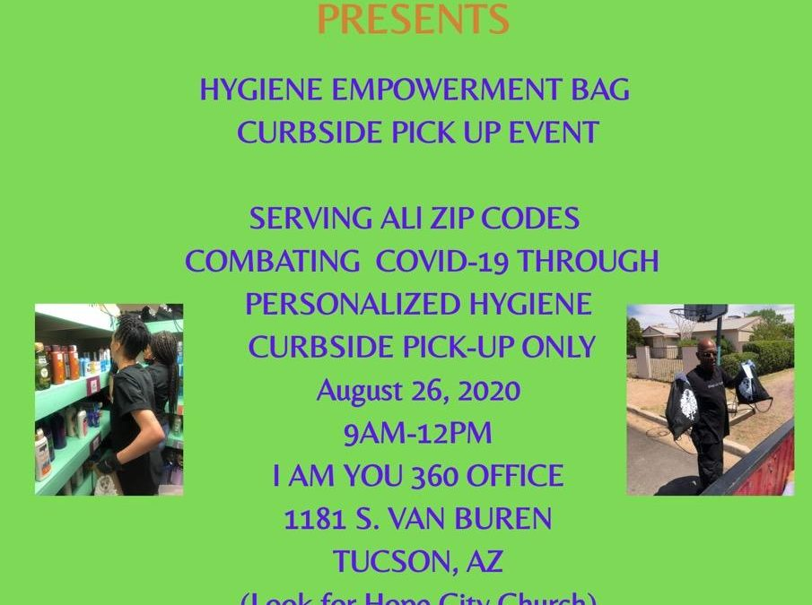 Hygene Empowerment Bag – Curbside Pick Up Event